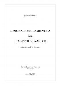 Frontespizio Dizionario
